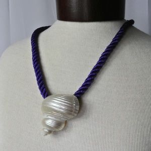Real Shell Mermaid Necklace